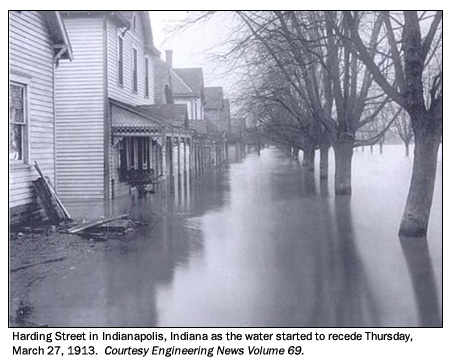 The Great Easter Flood of 1913