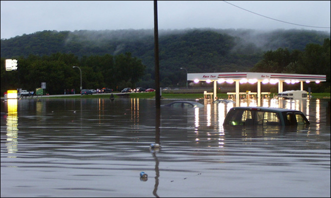 Flooding in Indiana