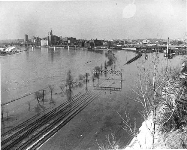 The Great Ohio River Flood of January 1965