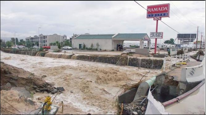 Flooding In Nevada