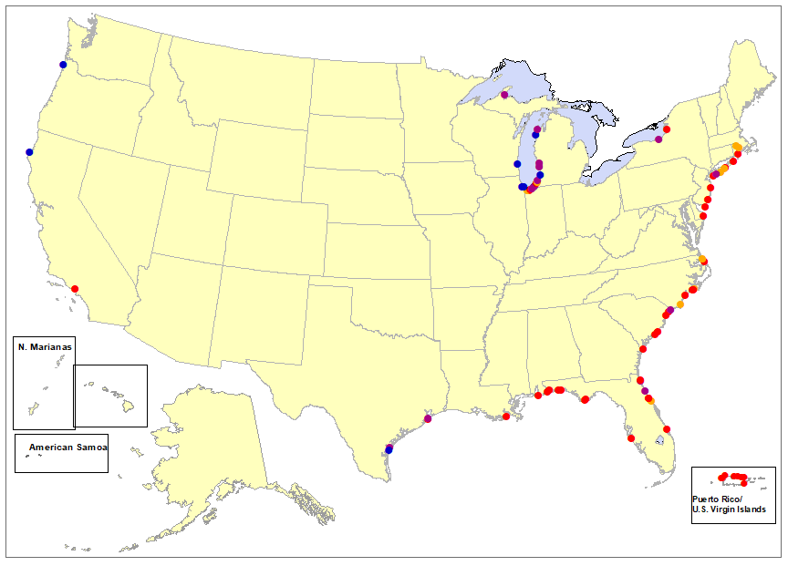 U.s. Surf Zone deaths in 2020
