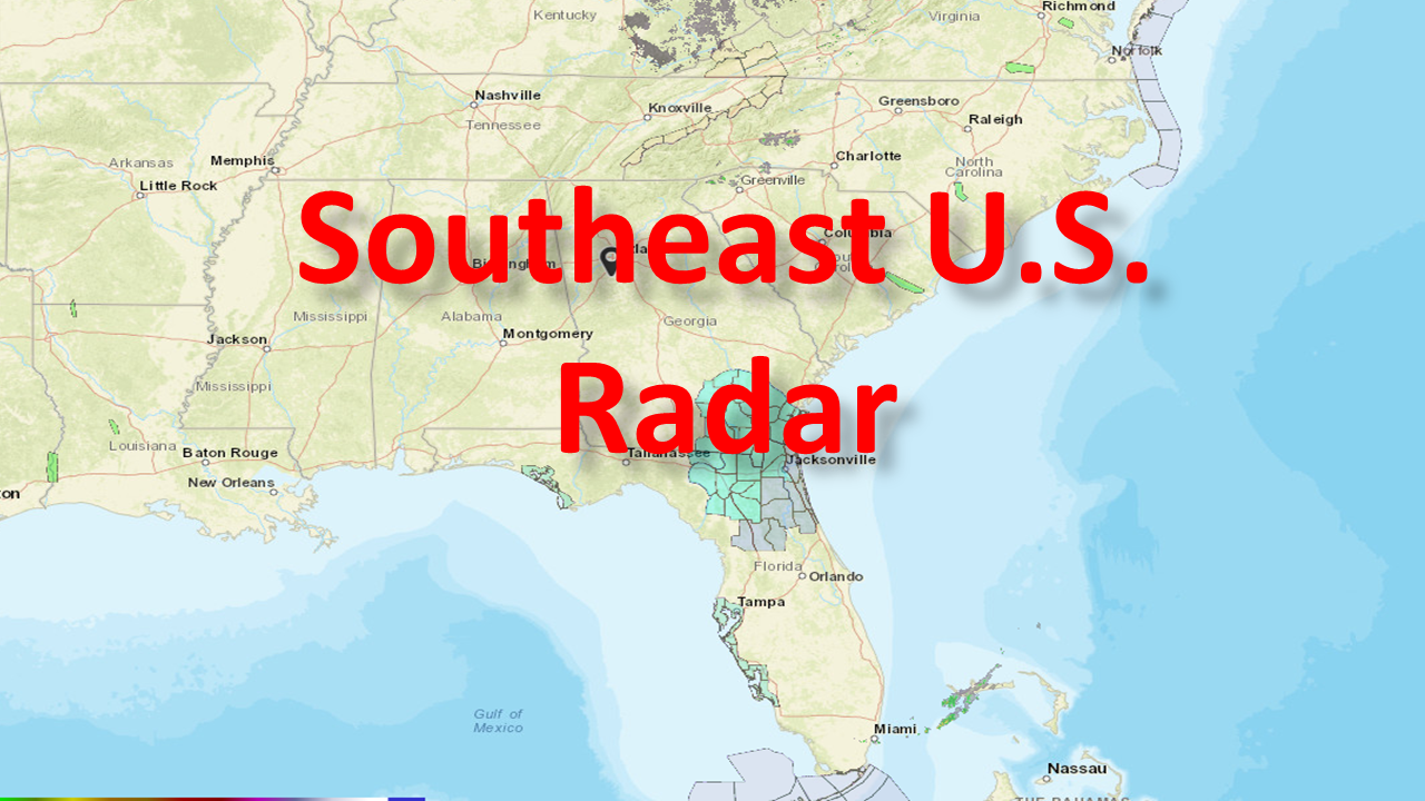 Current Southeast US Radar