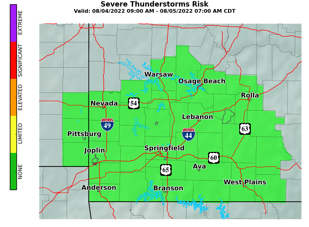 Experimental Enhanced Hazardous Weather Outlook