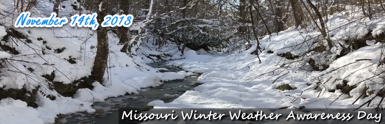 Missouri Winter Weather Awareness Day Is Wed , Nov  14, 2018