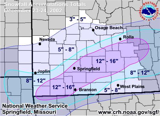 Snowstorm - December 23rd-24th, 2002