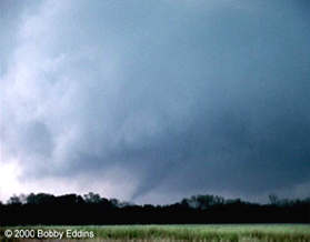 Tornado from Storm 5 just east of Mansfield, LA