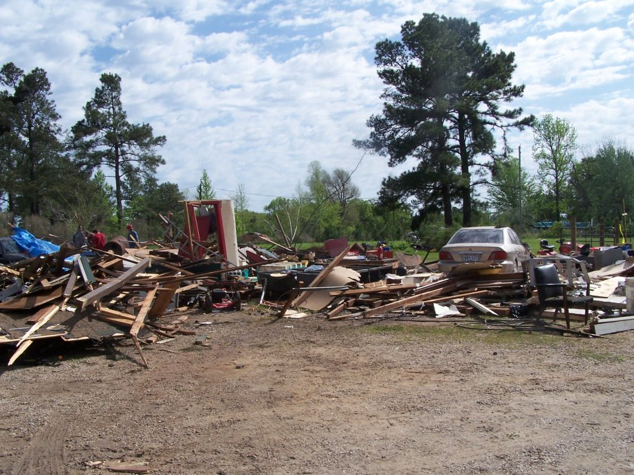 Lawnmower shop completely destroyed