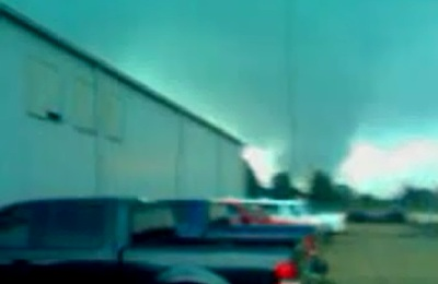 Tornado northeast of Henderson, TX