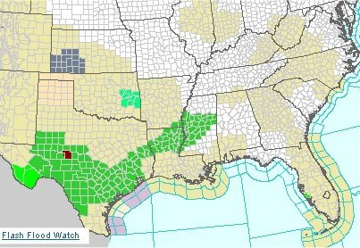 Flash Flood Watches that were issued