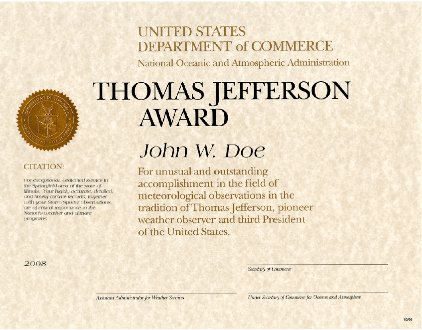 Thomas Jefferson Award
