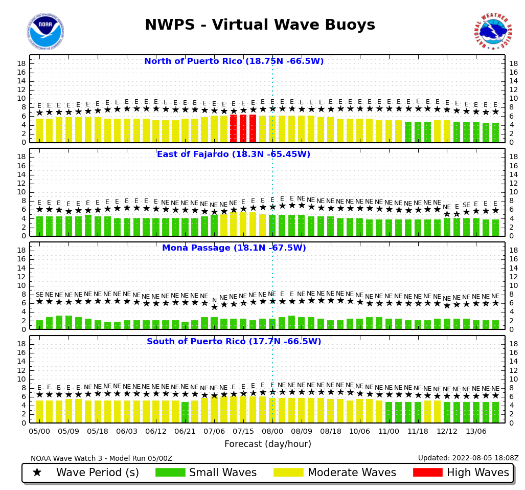 Virtual Wave Buoy