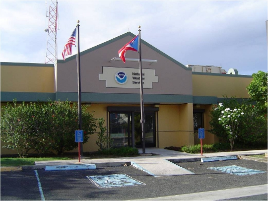 The San Juan WFO at the LMM International Airport.