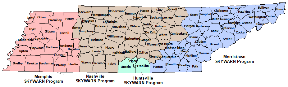 Tennessee Skywarn Program