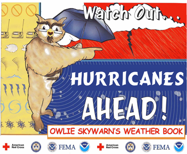 NWS Owlie SKYWARN Wx Book - Watch Out, Hurricanes Ahead