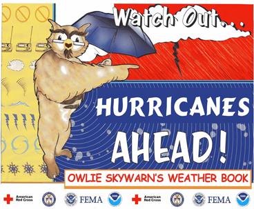 NWS Owlie SKYWARN Wx Book - Watch Out, Hurricanes Ahead