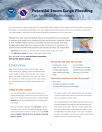 NHC Potential Storm Surge Flooding Brochure