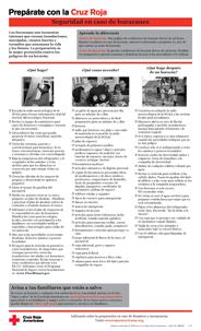 Red Cross Hurricane Safety Checklist - Spanish