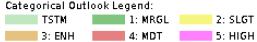 SPC Convective Outlook Legend