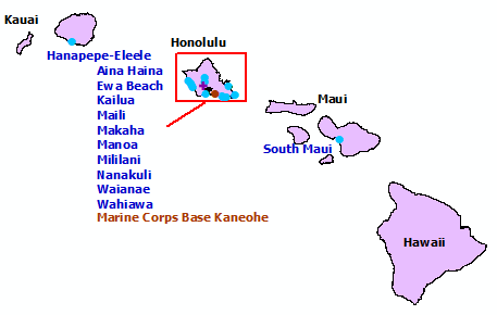 Hawaii StormReady and TsunamiReady Communities. Click for state map and list