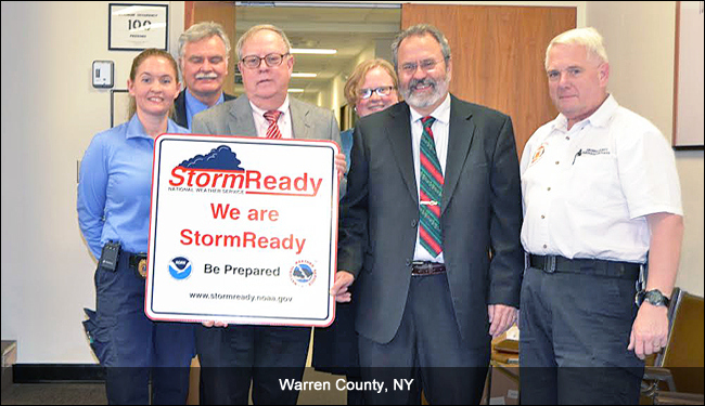 StormReady/TsunamiReady Recognition Events in 2016