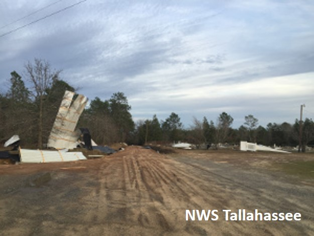 Tornado And Damaging Wind Event January 2 2017