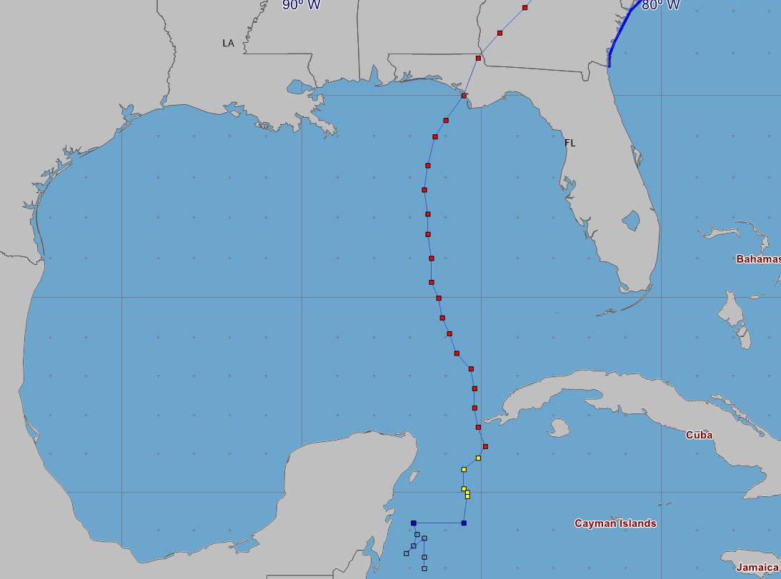 Florida Map Hurricane Michael Catastrophic Hurricane Michael