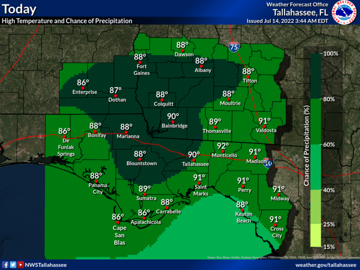 Tallahassee Florida Map.Tallahassee Fl