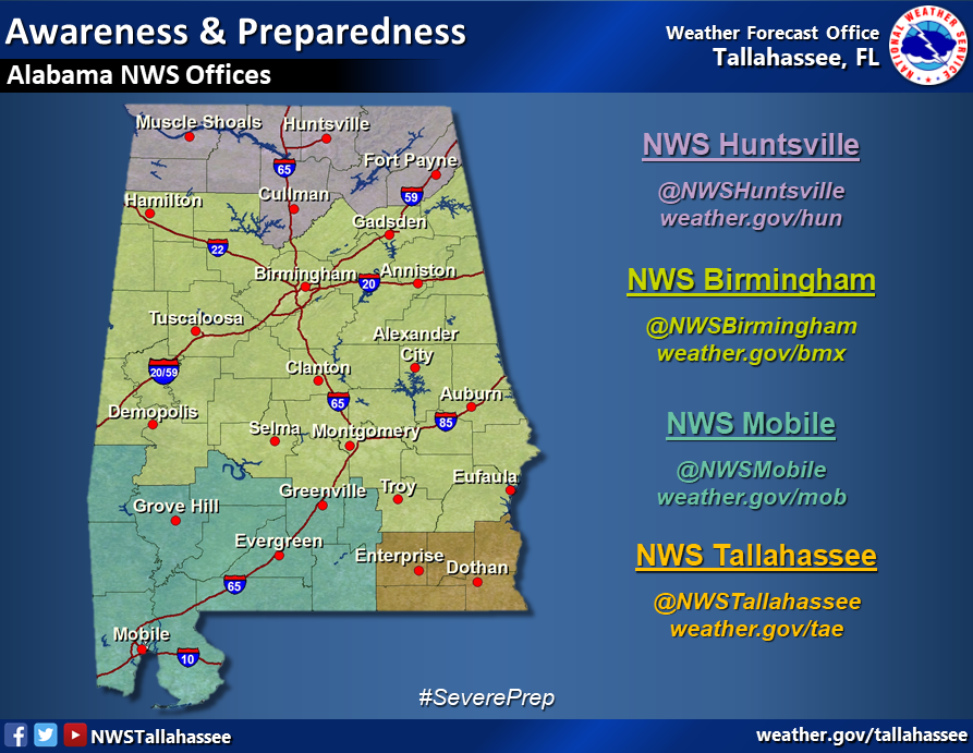 Alabama Nws Offices