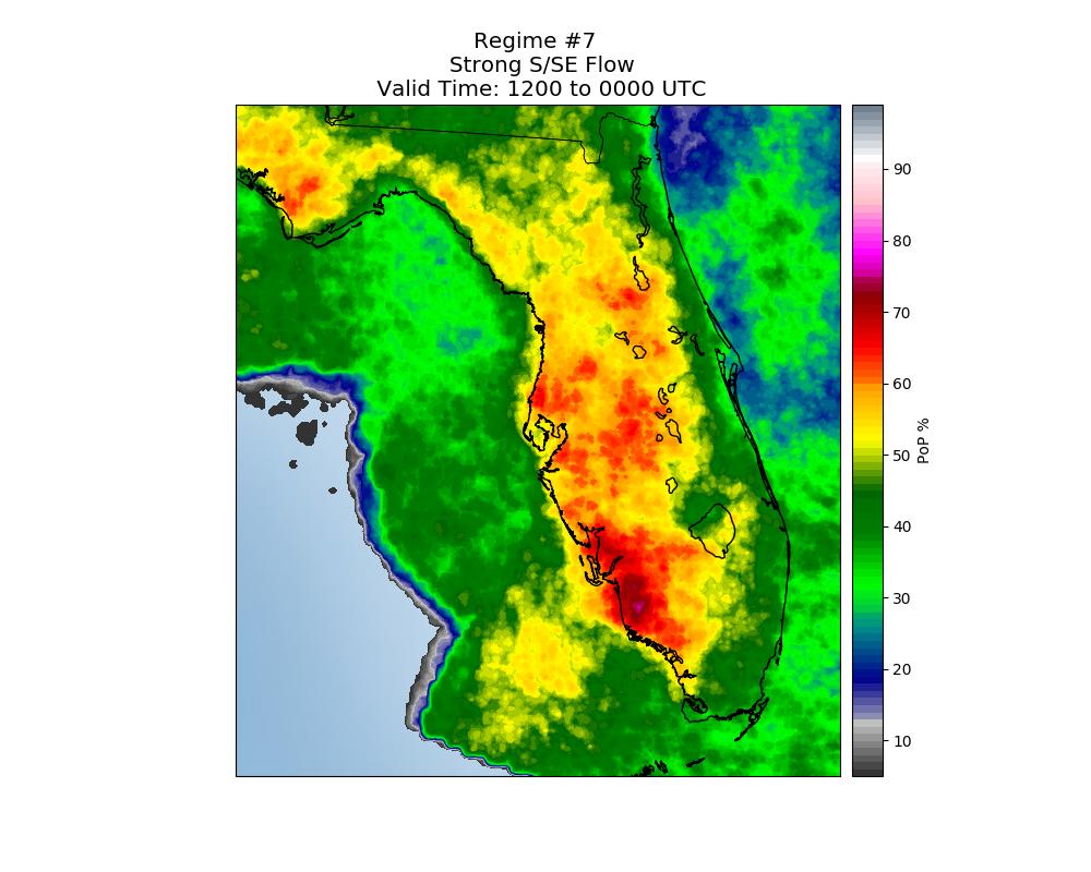 Florida Sea Breeze Thunderstorm Climatology