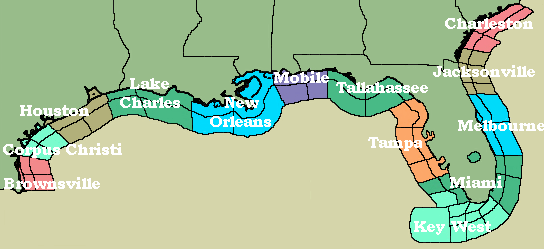 Tampa Bay Area Marine Weather Page
