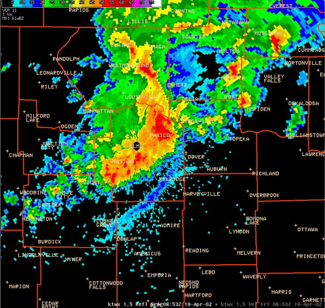 Denver Weather Tomorrow: Shawnee Ks Weather Radar