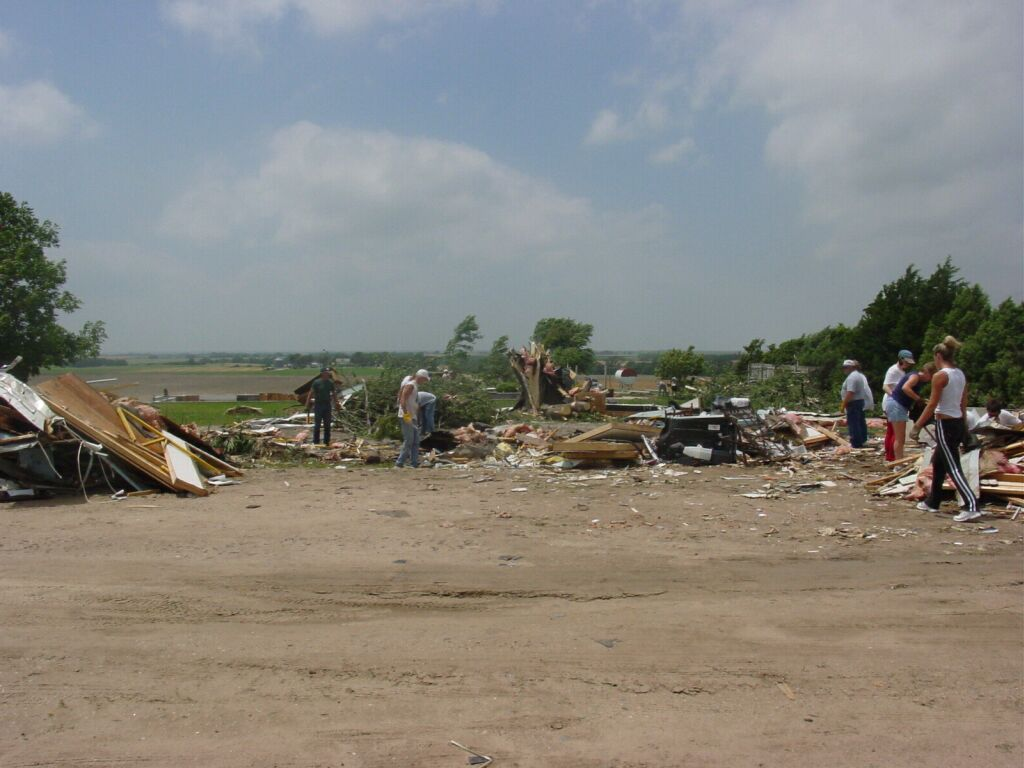 Kansas republic county agenda - Some Photos Of Damage And Flooding Across Republic County From The Storms Of June 22 And 23 2003