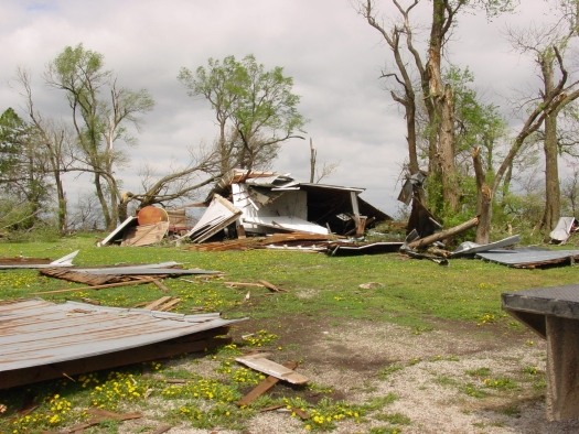 Damage from 041506 storms
