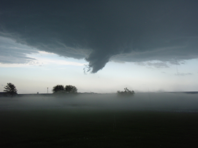 Funnel over Billard Airport