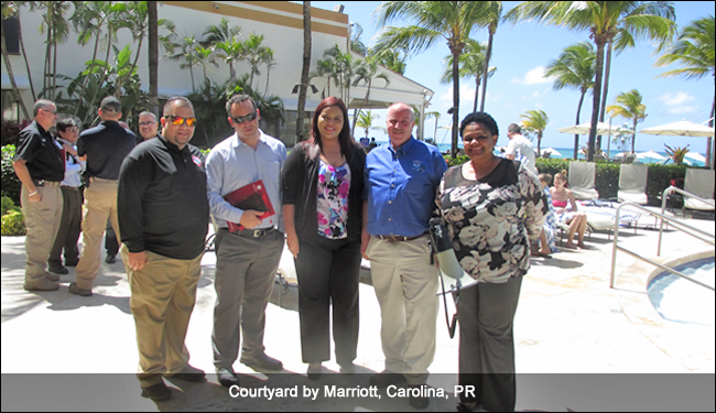 Courtyard by Marriott, Carolina, PR, TsunamiReady supporter ceremony, September 2016