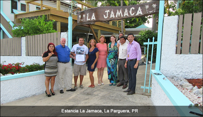 Estancia, PR, TsunamiReady supporter ceremony, September 2016