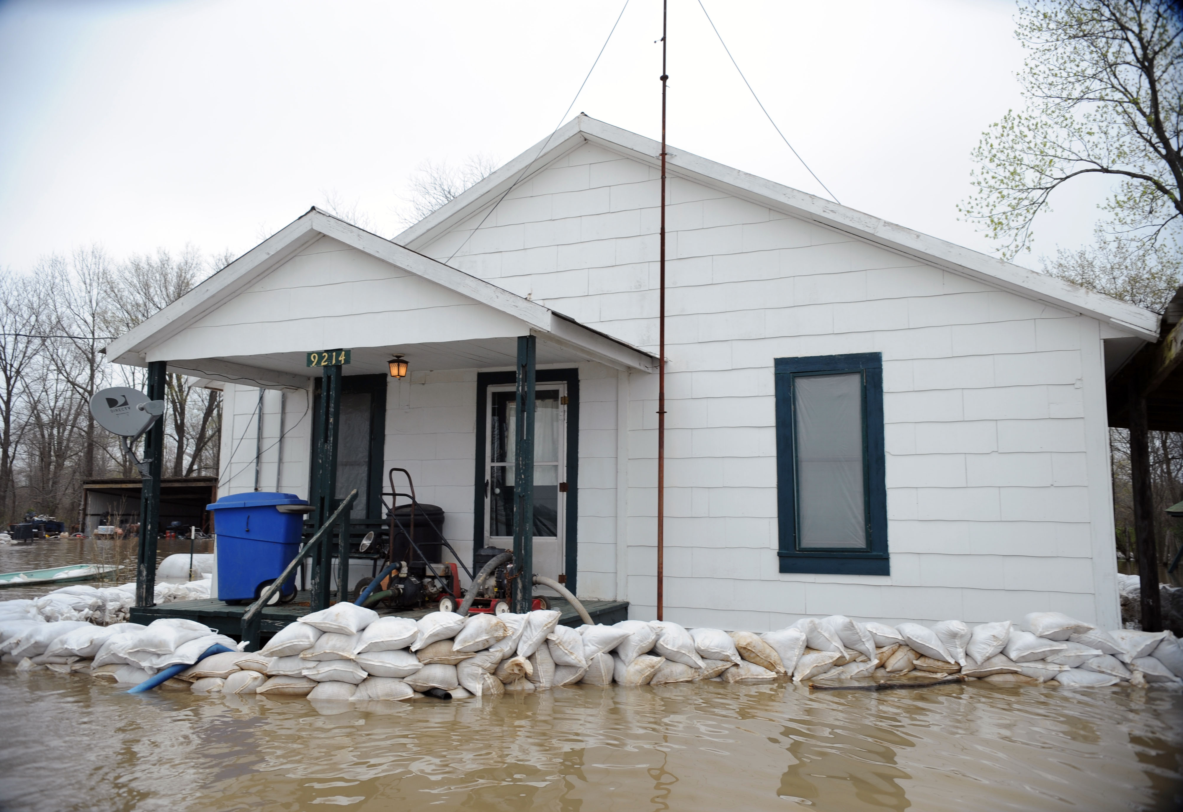 flooded home--NOAA