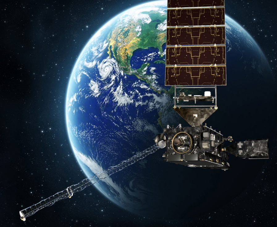 An artist's rendering of GOES East