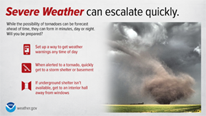 Tornadoes Escalate Quickly