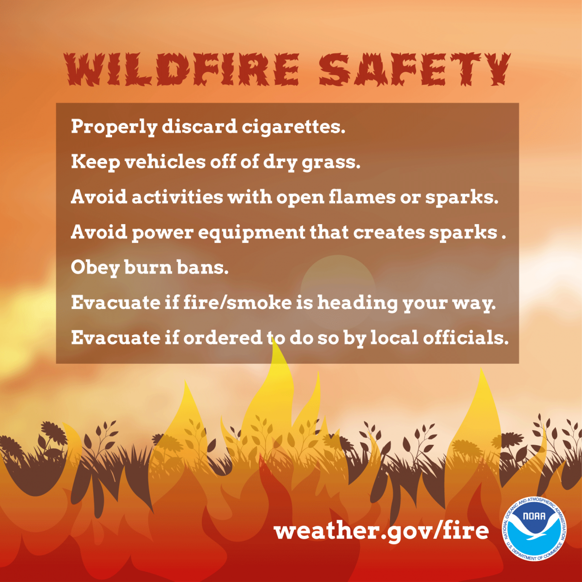 Wildfire Safety: