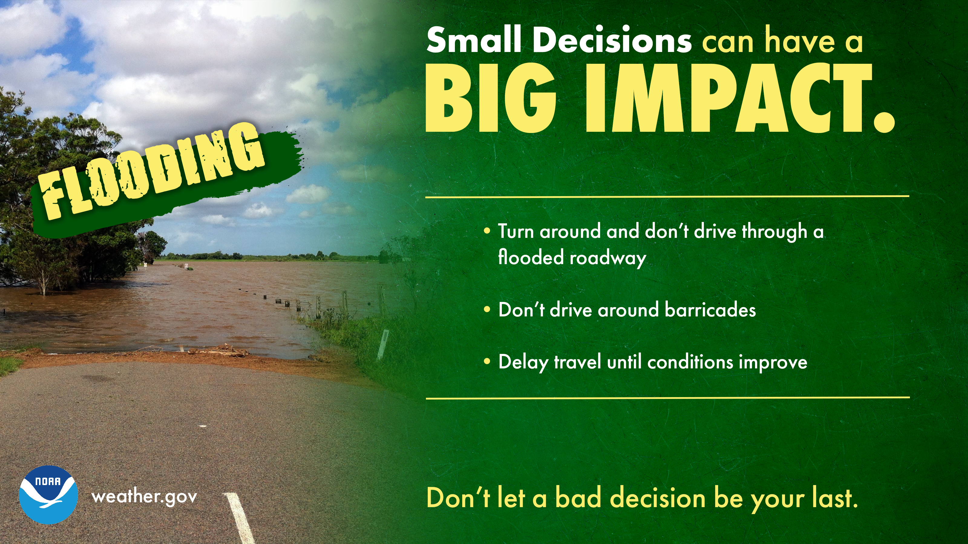 Small Decisions: Floods