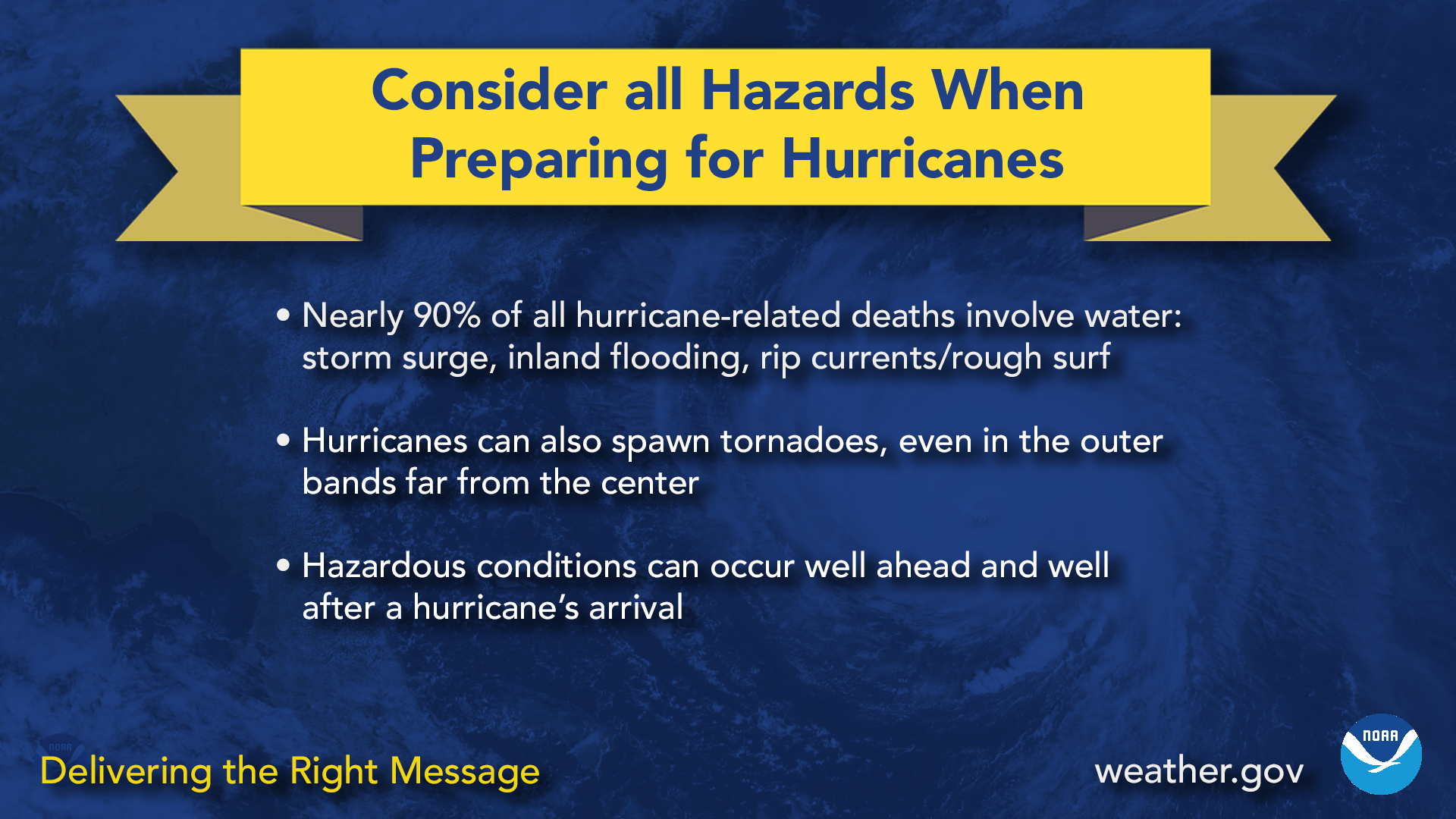 Consider all hazards when preparing for hurricanes