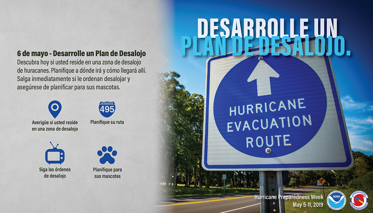 May 6 - Develop An Evacuation Plan