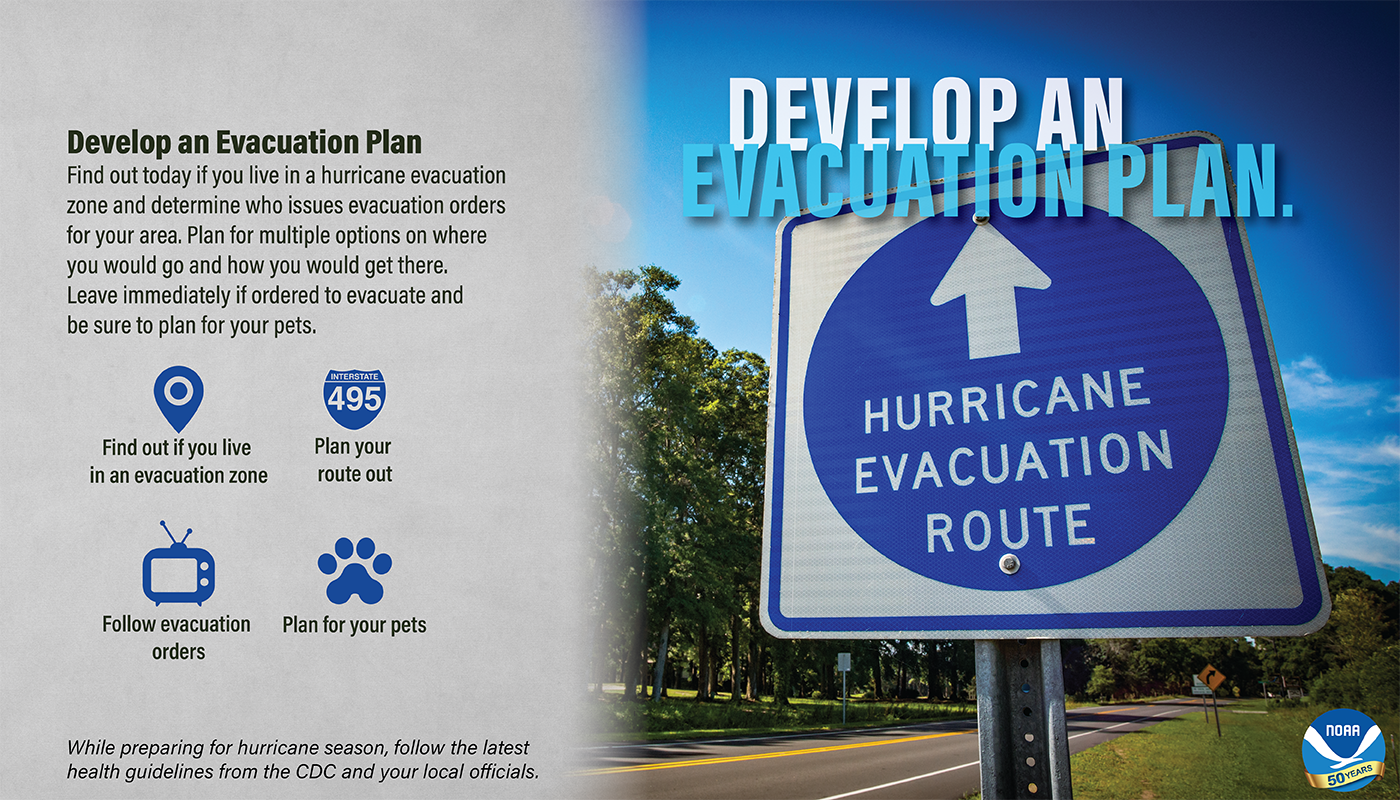 Develop an Evacuation Plan May 6th
