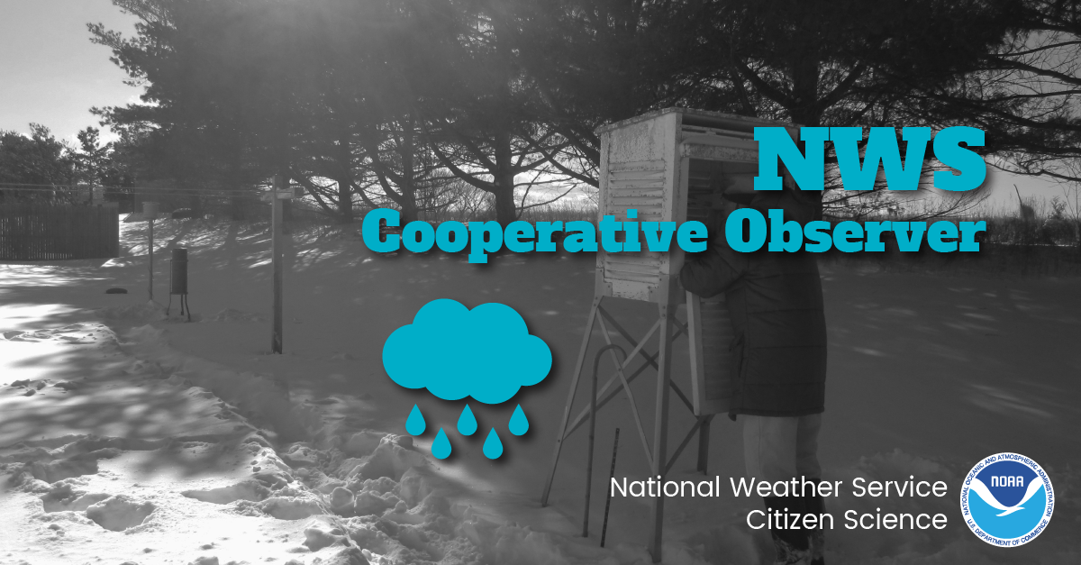 NWS Cooperative Observer: National Weather Service Citizen Science