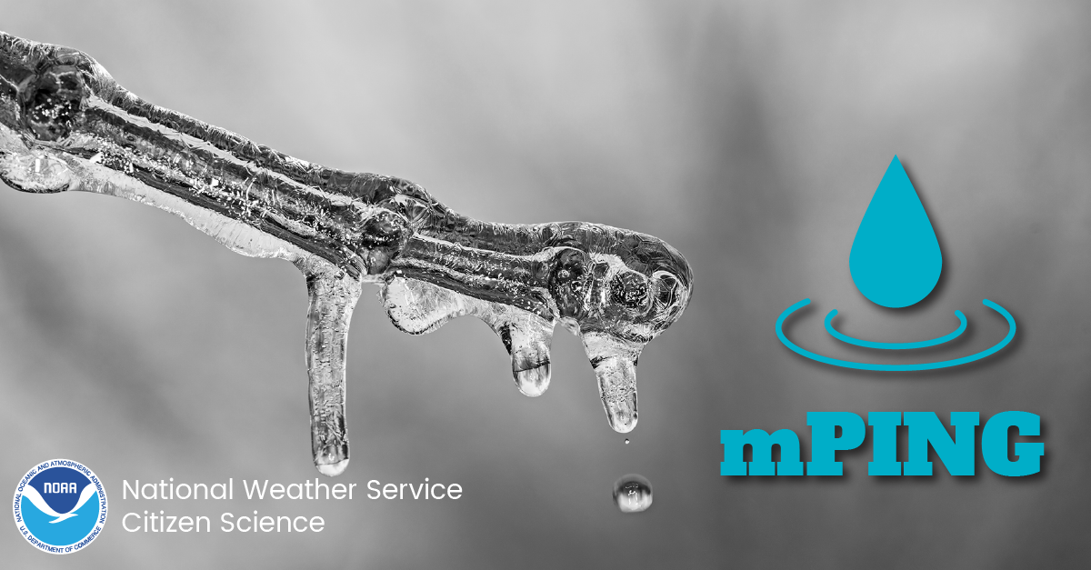 mPING: National Weather Service Citizen Science