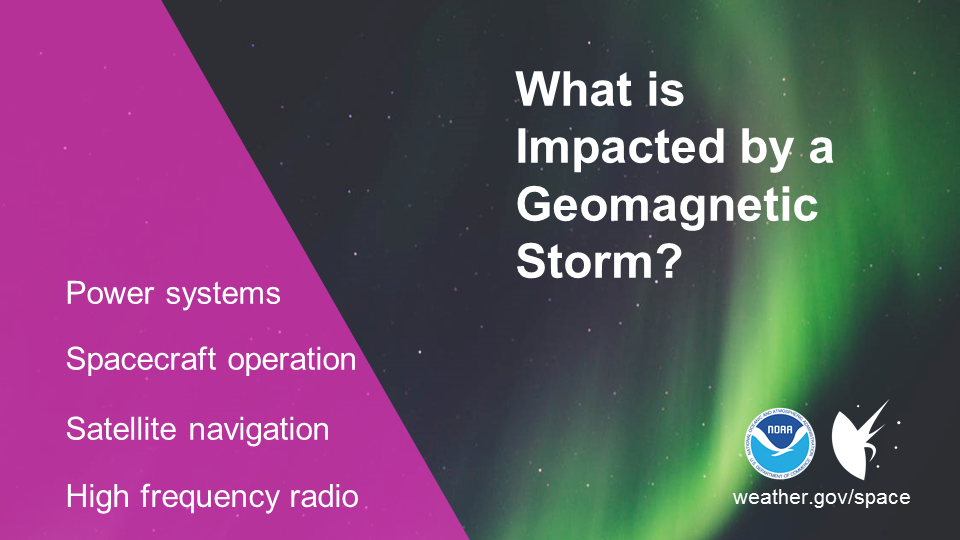Geomagnetic Storm Impacts