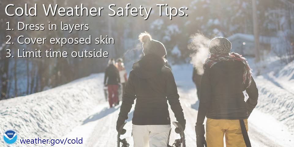 how to avoid cold in winter