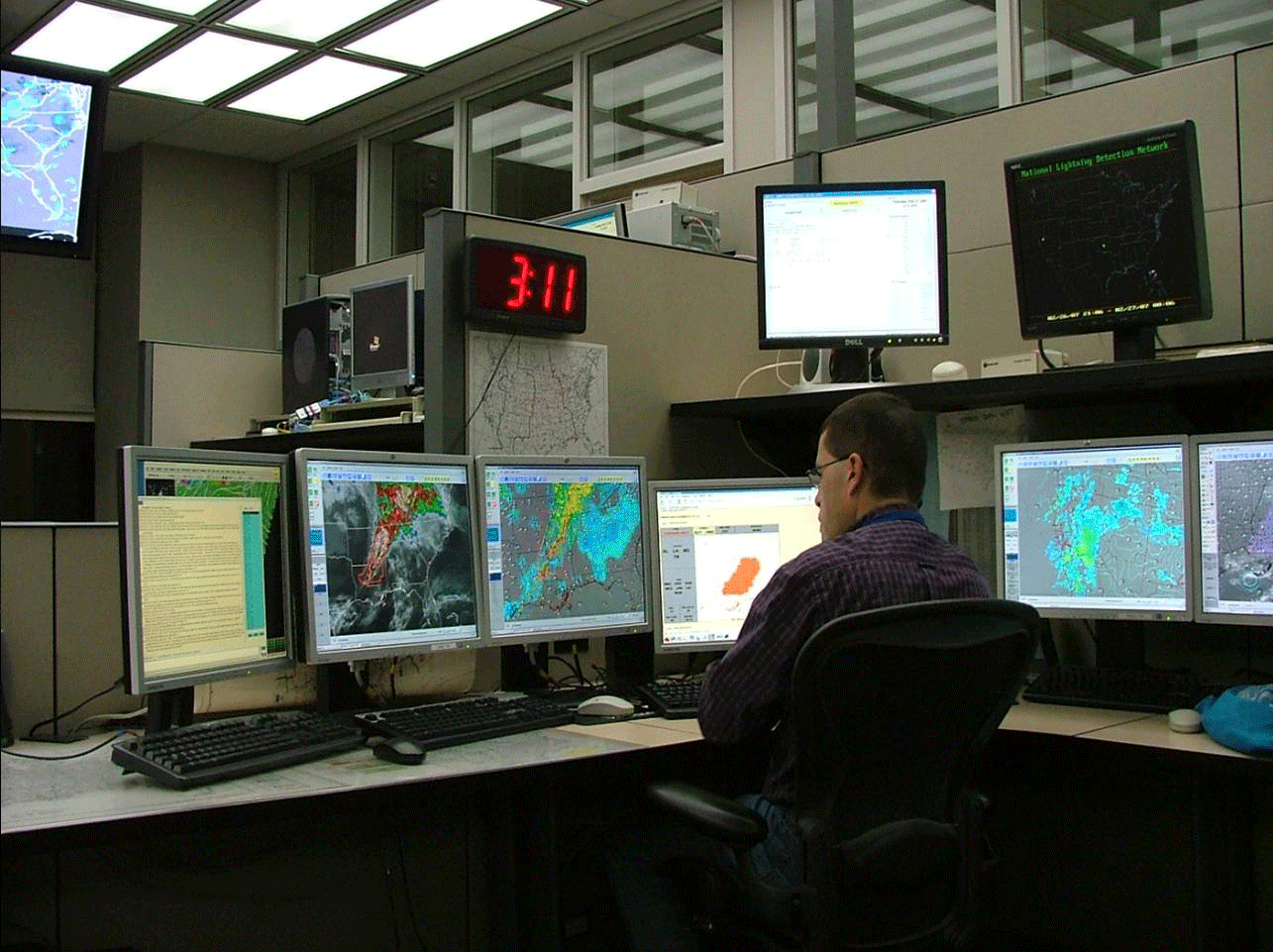 Forecasting Severe Weather: A Day in the Life of the Severe