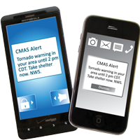 Cell phone Wireless Emergency Alerts